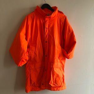 90s WoolRich Neon Orange Coat